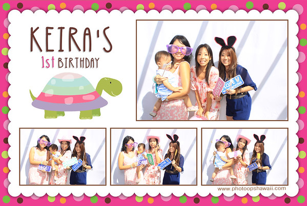 Keira's 1st Birthday (Fusion Photo Booth)