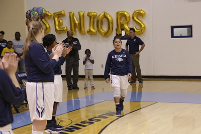 Keiser senior Guard and 4 year starter  Claudia Reque