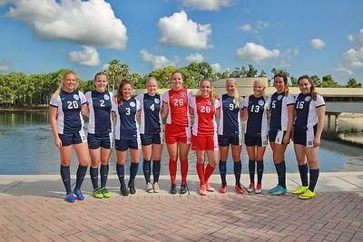 Women's Soccer Freshmen