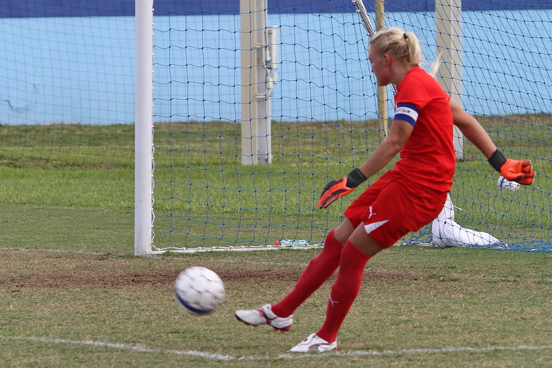 Goalkeeper Matilda Ojaniemi