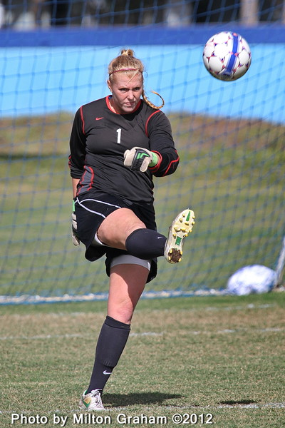 Westmont Goalkeeper Lindsey Smith