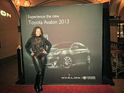 20130317 Alvin Ailey Dance tour sponsored by Toyota Avalon  at Auditorium Theatre of Roosevelt University