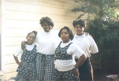 1991-7 Keita Teri Rita and Leelee- Houston Texas