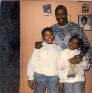 1990-1-27 Rita -Me and Keita By The Wall2