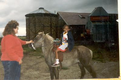 1987-7- Keita on a Pony