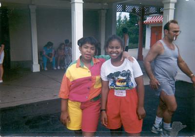 1992-8-17 Rita and Keita-Great America