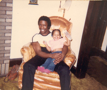1982-11 Daddy daughter day with Keita- 01