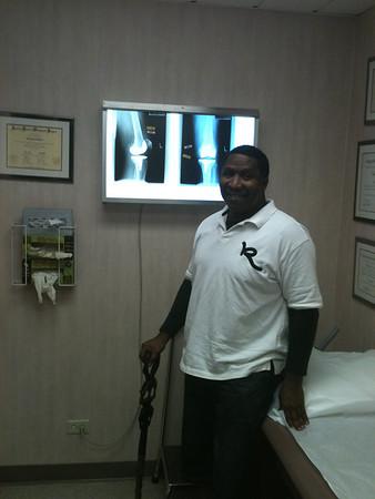 20111003 My New left knee
