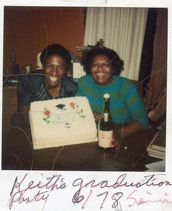 Me and My Mom. 1978-6 Keith's Graduation Party