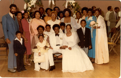 My Family at my 1st wedding. 1980-6-7 My Son's Wedding 010a