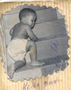 1960-12 Keith Climbing Stairs