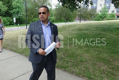 Keith Ellison At Ground Breaking Ceremony In Minneapolis, MN