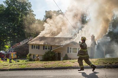 Structure Fire - 15 Fox Run Lane, Shelton, CT - 6/27/16