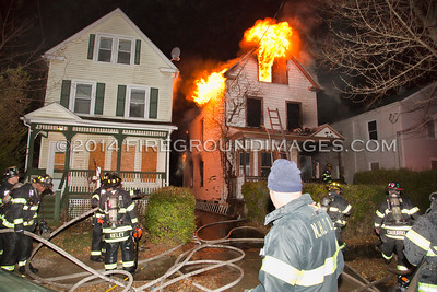 2 Alarm Structure Fire - Judson Ave, New Haven, CT - 12/8/14
