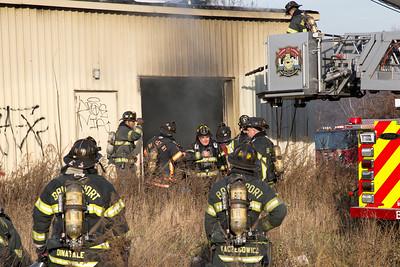 Building Fire - AGI Rubber Co, Bridgeport, CT - 11/22/14