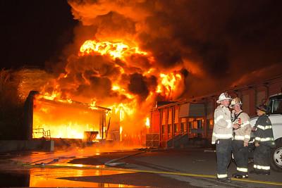 General Alarm Building Fire - Seaview Ave, Bridgeport CT - 9/11/14