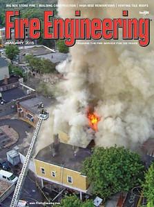 Magazine Cover - Keith Muratori, Fire Engineering - January 2015
