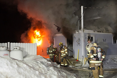 Structure Fire - 143 Indian Well Rd, Shelton, CT  - 1/18/15