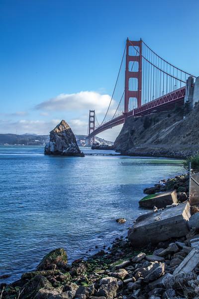 Golden Gate Bridge from Sausalito 1