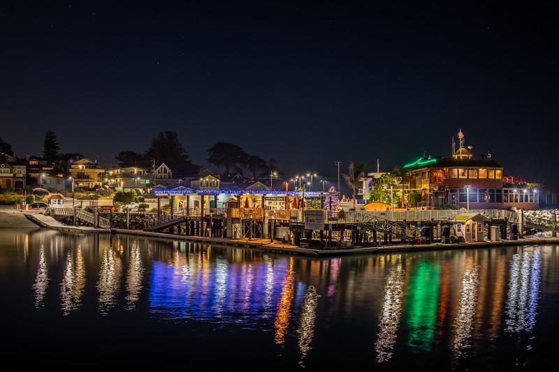 Santa Cruz Harbor Night 1