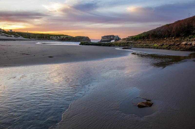 Dawn at Natural Bridges Beach 4