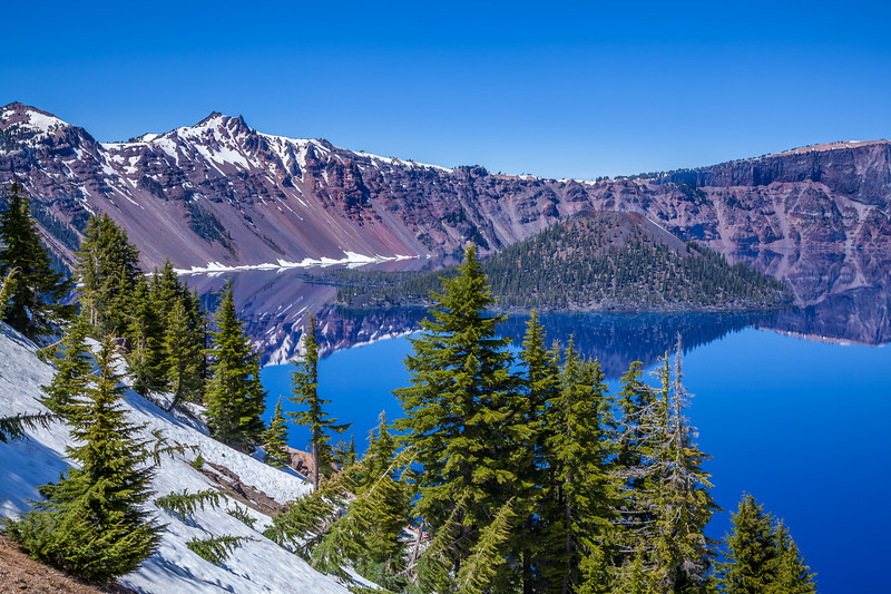 Crater Lake Reflections 1