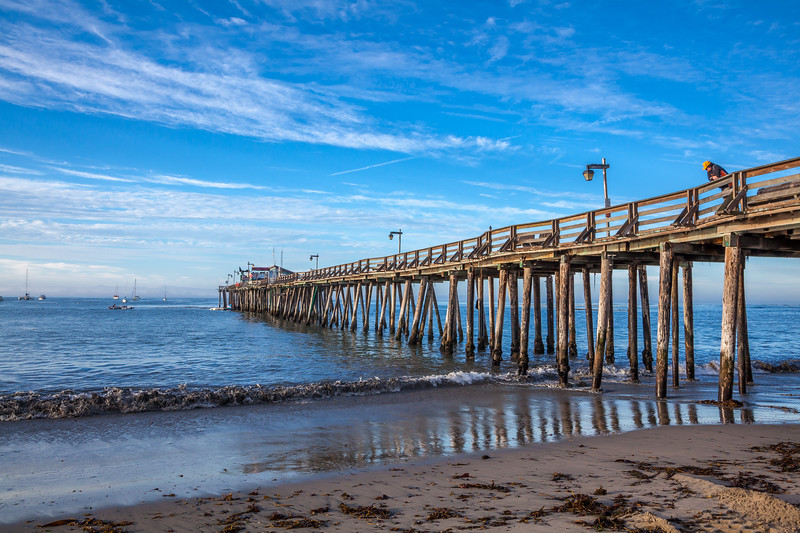 Capitola Pier Morning