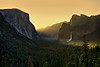 Yosemite Tunnel View Sunrise 1