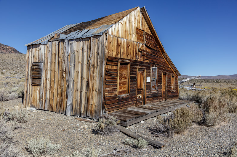 Mono Lake Abandoned Building 1