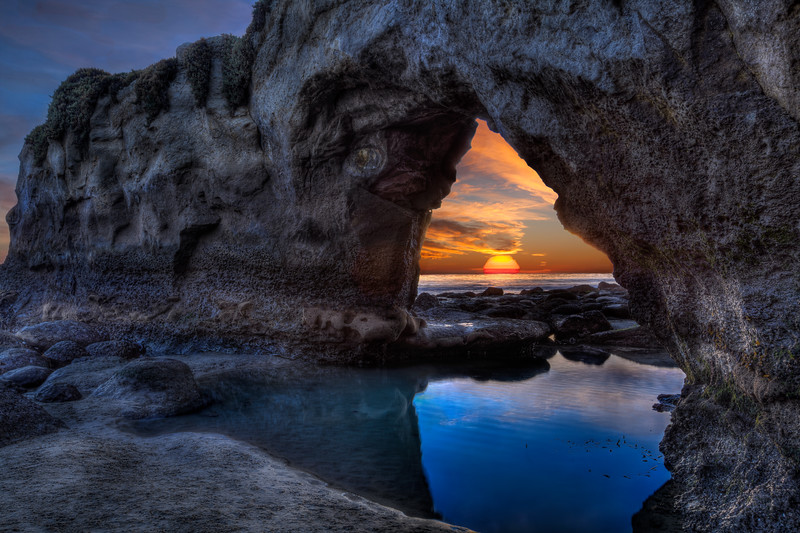 Tunnel View Sunset at Its Beach 2