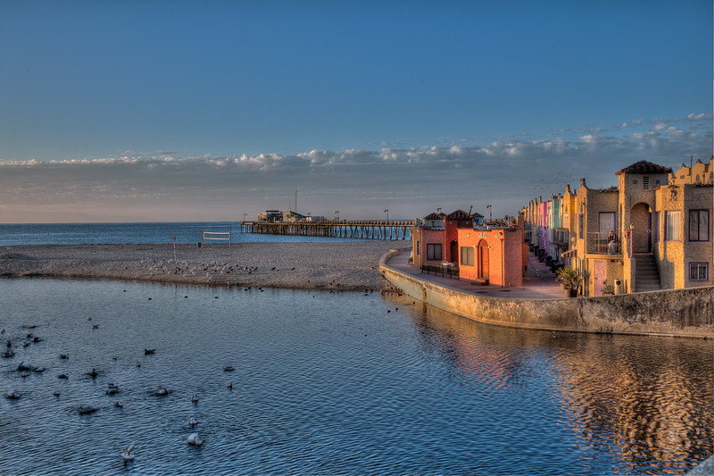 Sunrise Reflections at Capitola Beach 2