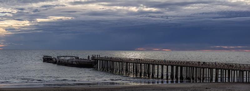 Seacliff Beach Pier Panorama