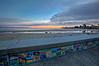 Tiled Capitola Beach