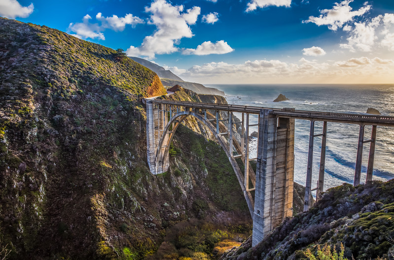 Bixby Bridge on California Highway One