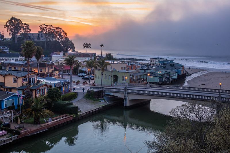 Capitola Dawn Reflections 4
