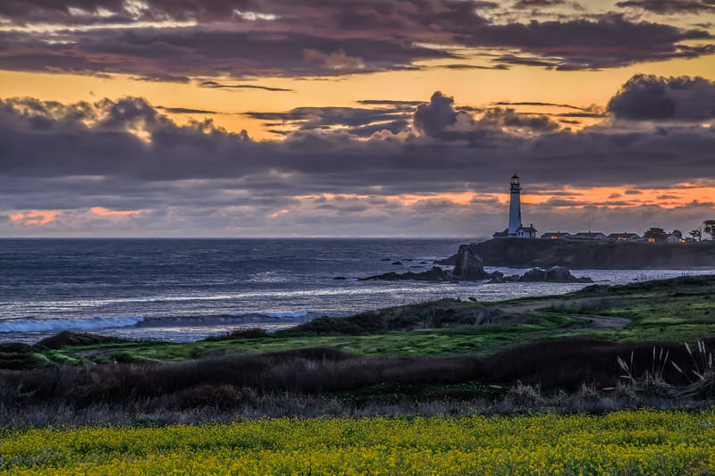 Colorful Pigeon Point Evening