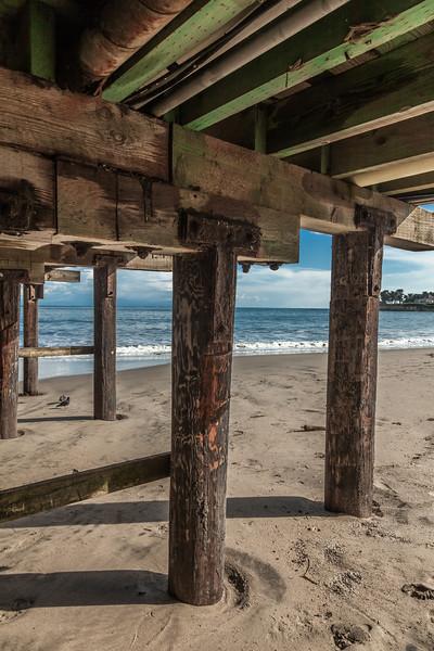 Santa Cruz Pier Underside