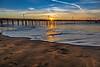 Sunburst Ripple on Capitola Beach