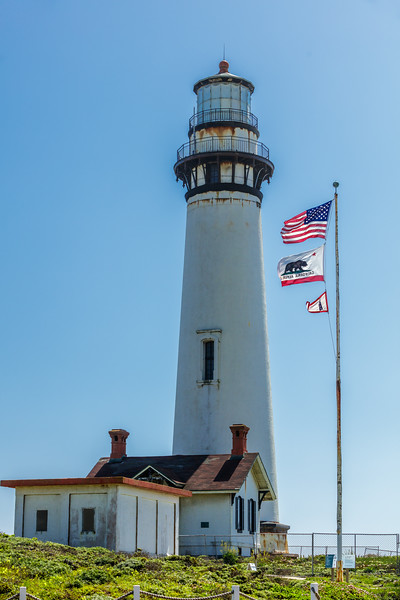 Pigeon Point Lighthouse Up Close
