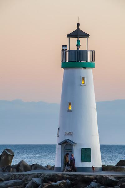 Couple at Walton Lighthouse