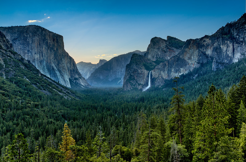Yosemite Tunnel View Sunrise 2