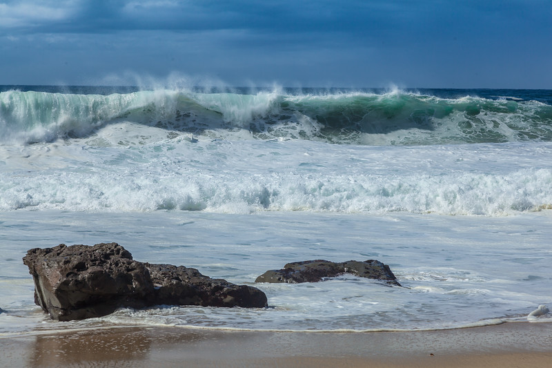 Garrapata Beach Waves 1