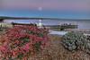 Monterey Bay Moonrise in Capitola