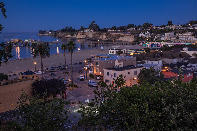 Evening Light at Capitola Beach