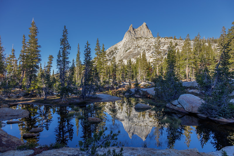 Cathedral Peak Reflection 1