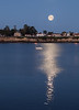 Moonset Over Santa Cruz
