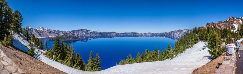Crater Lake Panorama 1