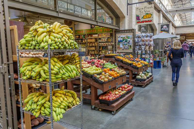 Ferry Building Fruit Stand 2