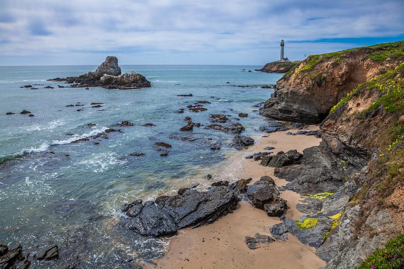 Pigeon Point Rocky Shoreline 1