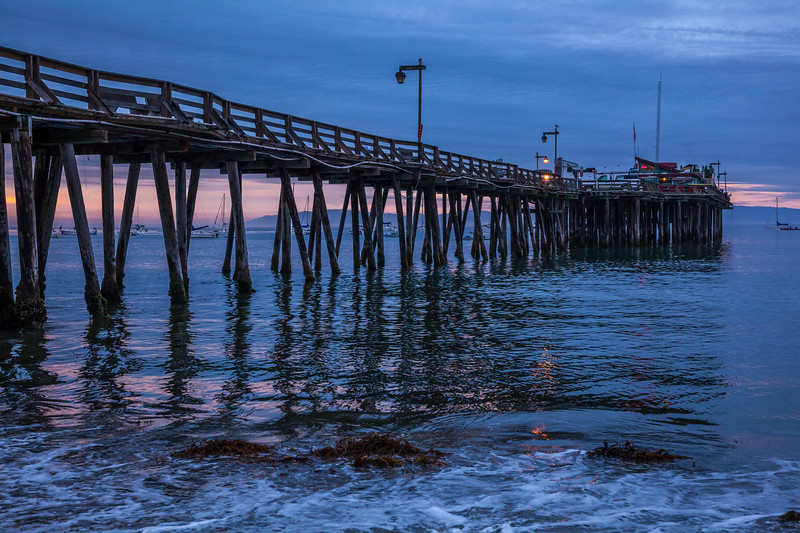 Reflection in Motion at Capitola Pier